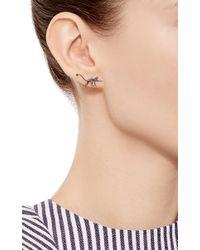 Marc Alary - Black Micro Monkey Earrings - Lyst