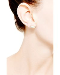 Dana Rebecca | Metallic One Of A Kind Opal Earrings in 14k Rose Gold | Lyst