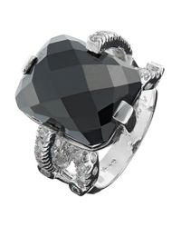 Lord & Taylor | Metallic Dark Crystal Ring | Lyst