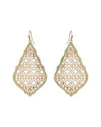Kendra Scott | Metallic Adair Earrings | Lyst