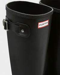 Hunter | Black Men's Norris Field Side Adjustable Neoprene Lined Rain Boots for Men | Lyst