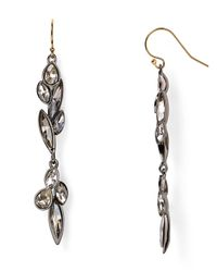 Alexis Bittar | Metallic Miss Havisham Starlight Marquis Cluster Dangling Drop Earrings | Lyst