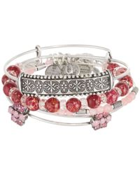 ALEX AND ANI | Pink Cotton Candy Sideshow Set Of 5 | Lyst