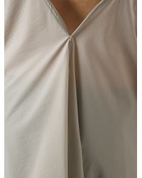 Rick Owens - Natural 'Wishbone' Top - Lyst
