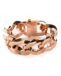 Givenchy | Metallic Chain Link Bracelet | Lyst