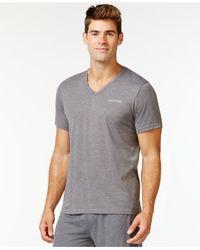 Calvin Klein | Gray Liquid Lounge Short-sleeve V-neck T-shirt for Men | Lyst