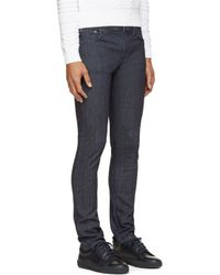 Nudie Jeans - Blue Twill Tube Tom Jeans for Men - Lyst