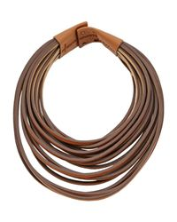 Brunello Cucinelli | Natural Necklace | Lyst