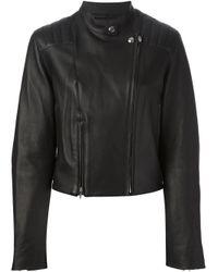 Alexander Wang | Black Biker Jacket | Lyst