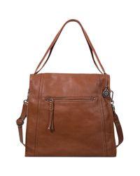 The Sak   Brown Mirada Leather Tote   Lyst