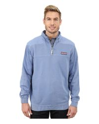 Vineyard Vines - Blue Garment Dyed Whale Line Shep Shirt for Men - Lyst