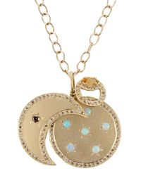 Andrea Fohrman - Metallic Moon Phases Pendant Necklace - Lyst