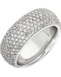 Theo Fennell - Metallic 18ct White Diamond Spangle Ring - Lyst