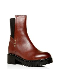 Moda In Pelle - Brown Balbina Low Casual Short Boots - Lyst