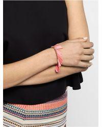 BaubleBar - Pink Fluoro Fringe Tassel Bracelet - Lyst