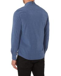 Duck and Cover - Blue Richardson Long Sleeve Shirts for Men - Lyst