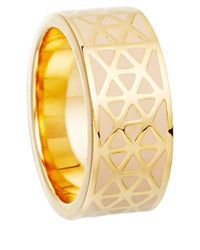 Astley Clarke | Pink Peach Blush Prismic Weave Ring | Lyst