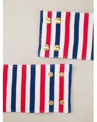 Stella Jean - Multicolor Striped Pineapple Charm Cuff - Lyst