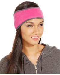 Style & Co. | Pink Style&co. Fleece Headband, Only At Macy's | Lyst