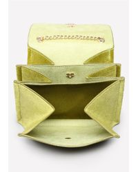Bebe Yellow Hepburn Crossbody Bag