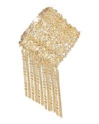 Kendra Scott | Metallic Ivy 14k Gold-plated Cuff Bracelet | Lyst
