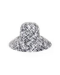 BCBGMAXAZRIA - Black Lampshade Hat - Lyst
