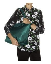 Longchamp   Green Le Pliage Losange Handbag   Lyst