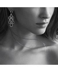 David Yurman - Blue Chandelier Earrings - Lyst
