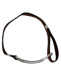 Gilbert Gilbert   Natural Boucle Khaki Bracelet for Men   Lyst