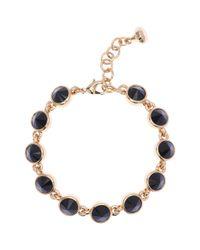 Ted Baker | Black Naia Crystal Stud Bracelet | Lyst