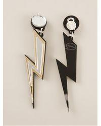 Yazbukey | Metallic Storm Earrings | Lyst
