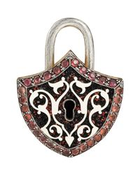 Sevan Biçakci | Multicolor Women's Shield-shaped Padlock Charm | Lyst