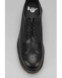 Dr. Martens - Black 3989 5-Eye Brogue Shoe for Men - Lyst