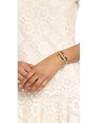 Noir Jewelry - Black Multi Path Bracelet - Lyst