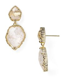 Kendra Scott | Metallic Quincy Earrings | Lyst
