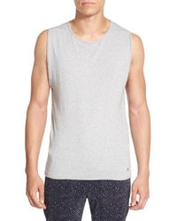 Alexander Simai - Gray 'fashion Gym' Muscle Tank for Men - Lyst