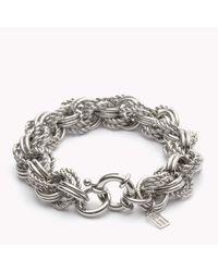Tommy Hilfiger | Metallic Multilink Bracelet | Lyst