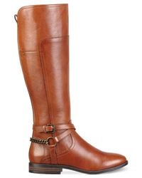 Marc Fisher - Brown Alexis Tall Riding Boots - Lyst