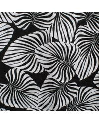 Paul Smith | Women's Black Cotton 'palm Leaf' Print Tunic | Lyst