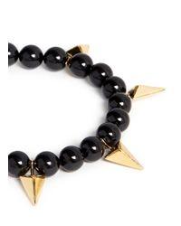 Joomi Lim | Metallic Arrowhead Spike Bead Bracelet | Lyst