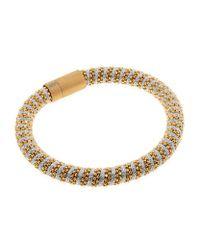 Carolina Bucci | Metallic Twister Bracelet Yellow Gold | Lyst