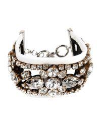 Shourouk | White Bracelet | Lyst