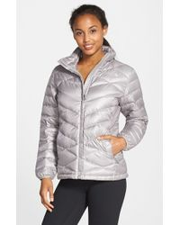 The North Face - Metallic 'aconcagua' Down Jacket - Lyst