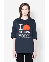 3.1 Phillip Lim - Black I Heart Ny T-shirt - Lyst