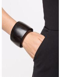 Monies | Black Sectional Bracelet | Lyst