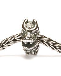 Trollbeads - Metallic Happy Dragon Bead - Lyst