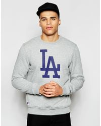KTZ - Gray La Dodgers Sweatshirt for Men - Lyst