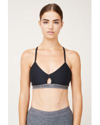 Outdoor Voices | Gray Steeplechase Sports Bra | Lyst
