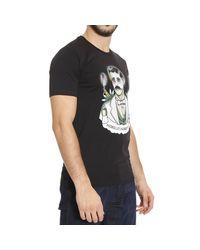 Frankie Morello   Black T-shirt for Men   Lyst