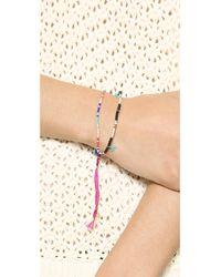 Shashi - Lilu Bracelet - Black - Lyst